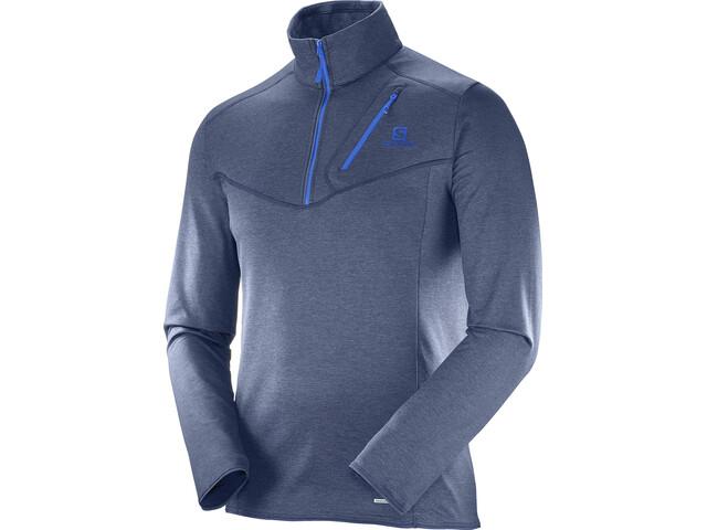 Salomon M's Discovery HZ Jacket Dress Blue